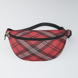 Scottish Plaid-Red Fanny Pack