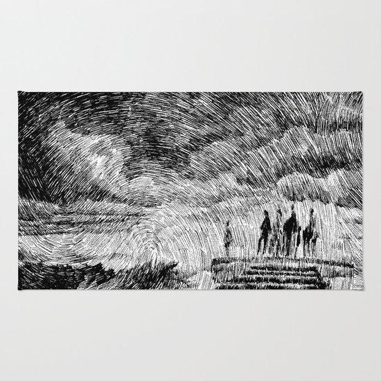 Storm - Ink Rug