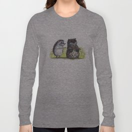 Hedgehog's here Long Sleeve T-shirt