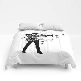 the Girl on Fire Comforters