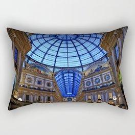 Shoping in Milan Rectangular Pillow