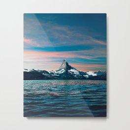 Matterhorn Sunset Metal Print