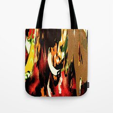 Warrior Fire Tote Bag