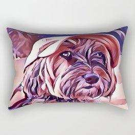 The Tibetan Terrier Rectangular Pillow