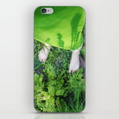 your shadows are growing on me iPhone & iPod Skin