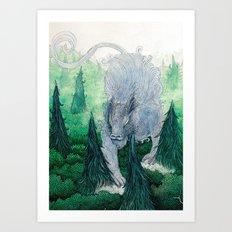 Jungle Cat II Art Print