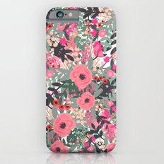 Flower jungle iPhone 6 Slim Case