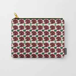 Garnets and fractal hearts Carry-All Pouch