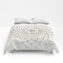 Fractal Star Comforters
