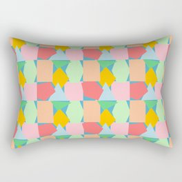 Fun Shapes 1 Rectangular Pillow