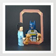 We are all Superheroes Art Print