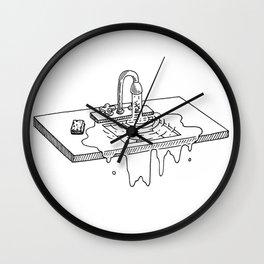 flowing Wall Clock