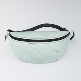 Blue & Gold Marble Fanny Pack