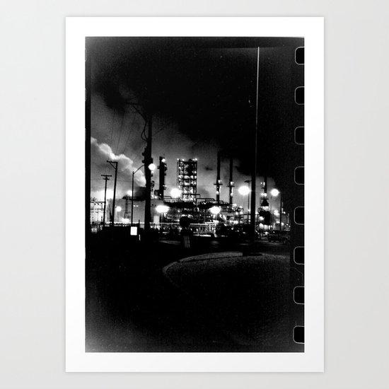 Vintage Pollution Art Print