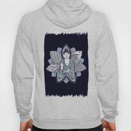 Buda and Lotus Flower Hoody