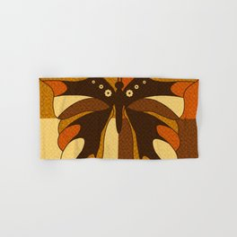 RETRO BUTTERFLY Hand & Bath Towel