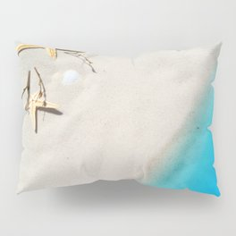 Beach Shore Scene Pillow Sham