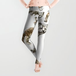 Totem Andean cat (AGA) Leggings
