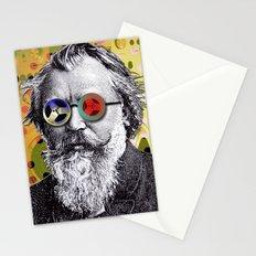 Brahms in Reel to Reel Glasses Stationery Cards