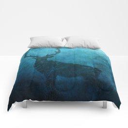 Spirit Elk Silhouette Comforters