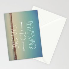 Remember to Explore Stationery Cards