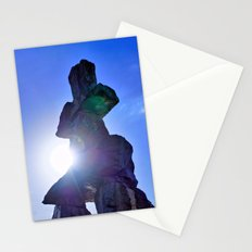 Inukshuk Monument Vancouver Stationery Cards
