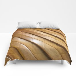 Wood Gaps. Fashion Textures Comforters
