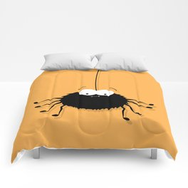 Big Black Spider Comforters
