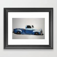 My First Truck Framed Art Print