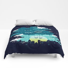 Stars and Constellations Comforters