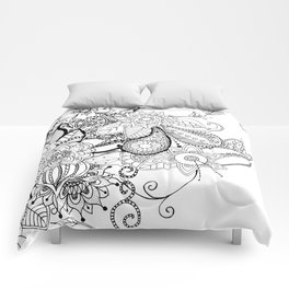 DOODLE MANIA Comforters