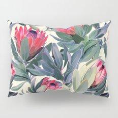 Painted Protea Pattern Pillow Sham
