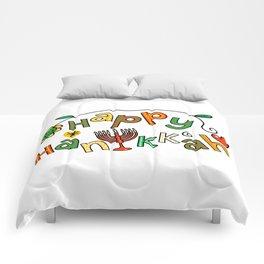 Happy Hanukkah Comforters
