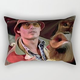 Johnny Depp @ Fear and Loathing in Las Vegas #2  Rectangular Pillow