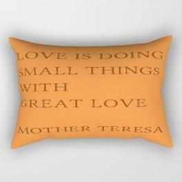 Greats of quotations4 Rectangular Pillow