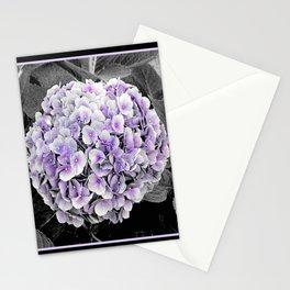 Purple Hydrangea   Nadia Bonello Stationery Cards