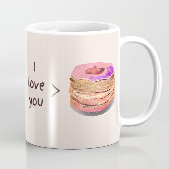 I love you more than cronuts Mug