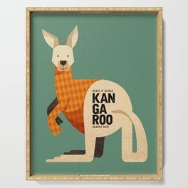 Hello Kangaroo Serving Tray