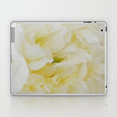 Cream peony Laptop & iPad Skin