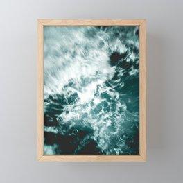 Fast Forward Framed Mini Art Print
