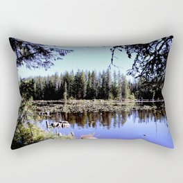 Trillium Lake Rectangular Pillow