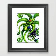 Infinity Octopus Framed Art Print