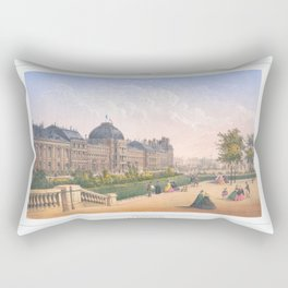 Les tuileries Paris France Rectangular Pillow