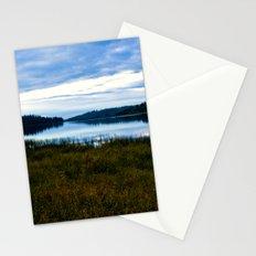 Blue Lake at Dusk Stationery Cards