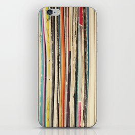 Record Collection iPhone Skin