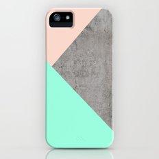 Concrete Collage Slim Case iPhone (5, 5s)