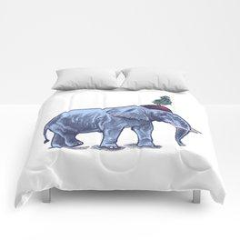 Elefante // melancholic circus elephant Comforters