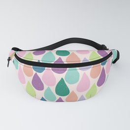 April Showers Bring Colorful Flowers Fanny Pack
