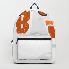 Ghost Creepy Midnight Halloween Gift Backpack
