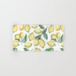 Lemon Fresh Hand & Bath Towel
